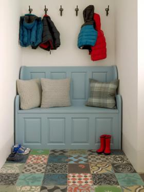 蓝色地中海风格儿童房装修效果图片
