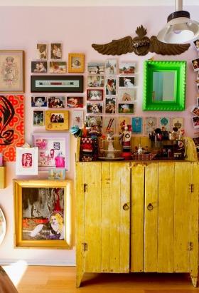 2016东南亚风格照片墙装修图片赏析