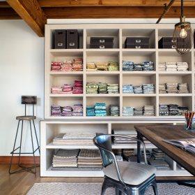 2016混搭风格书房实用收纳柜装修布置
