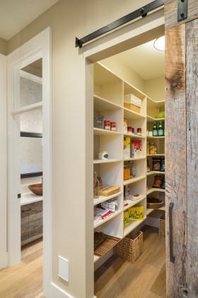 米色美式风格收纳柜装修设计