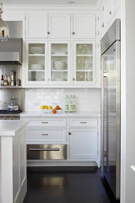 田园简洁厨房橱柜装修案例