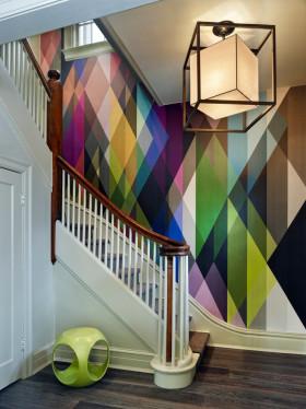 摩登古典与现代混搭楼梯设计美图赏析
