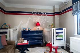2016地中海风格蓝色儿童房装修