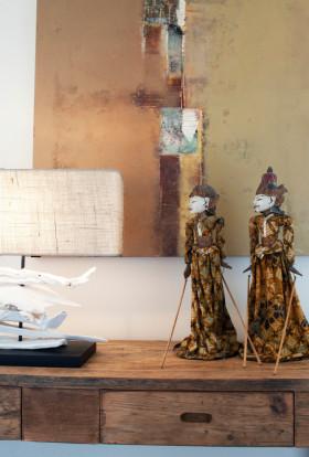 可爱东南亚风格装饰品装修效果图片