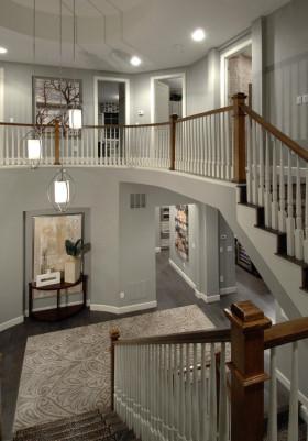 美式风格楼梯装修效果图