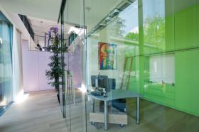 绿色现代风格书房设计赏析