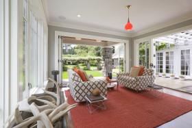 东南亚风格创意客厅吊顶美图欣赏