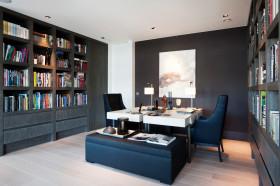 休闲新古典风格书房设计图