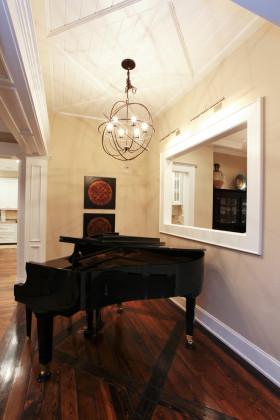 浪漫欧式风格钢琴区设计赏析