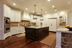 雅致复古欧式风格厨房设计装潢