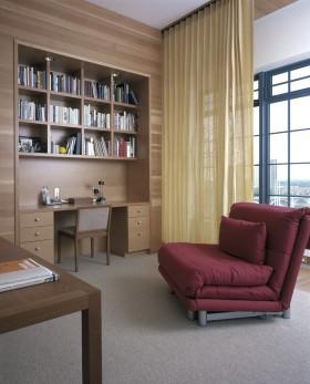 温馨雅致简约风格休闲书房欣赏
