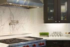 米色东南亚风格厨房设计装潢
