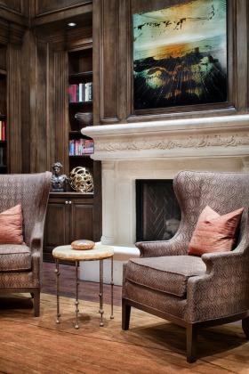 古典雅致时尚欧式客厅局部美图