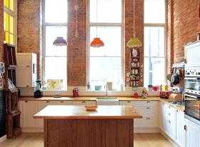 创意趣味2016美式厨房设计装潢