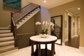 灰色欧式楼梯装修效果图