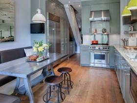 工业时尚混搭风格厨房装修