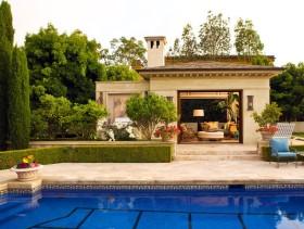 欧式风格大气别墅泳池设计图