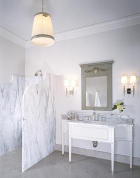 新古典简洁卫生间设计装潢
