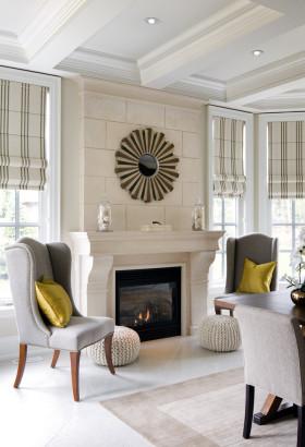 个性东南亚风格白色客厅背景墙装潢设计