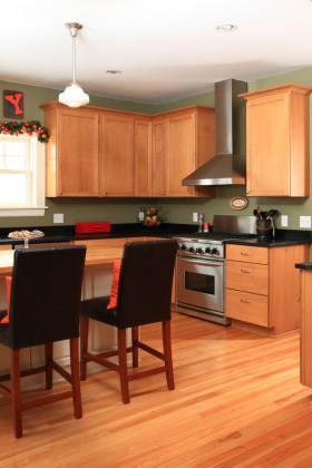 简洁中式风格厨房效果图赏析