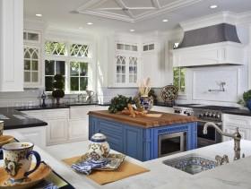 实用田园温馨欧式厨房设计装潢