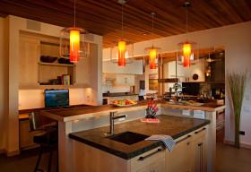 现代时尚风格厨房装修布置