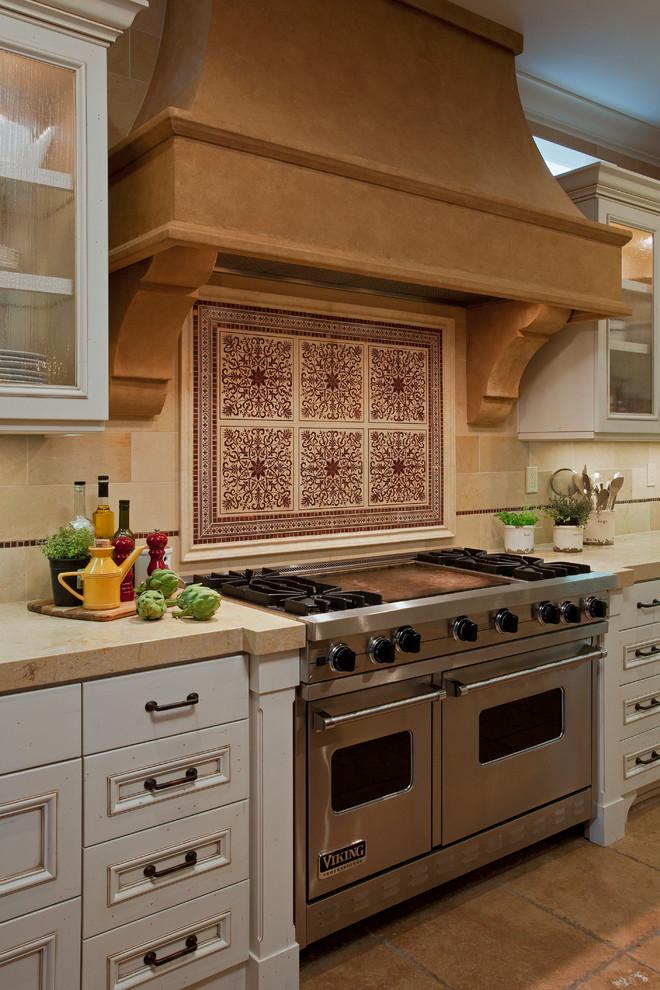复古精致欧式厨房装修图片