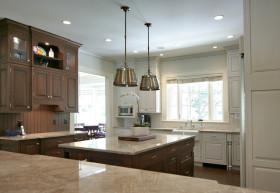 厨房大气雅致简欧风格效果图欣赏