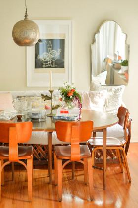 橙色地中海餐厅美图