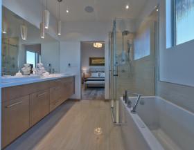 简约质朴卫生间装修设计图片