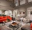 时尚现代风格灰色客厅装修图片