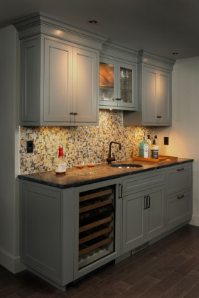 简欧风格厨房设计案例