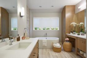 现代风格小清新卫生间装修图片