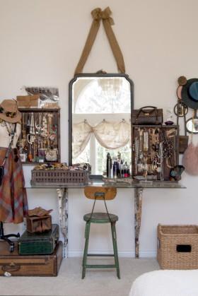 美式风格梳妆台设计装潢
