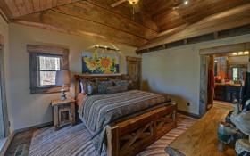 美式风格阁楼卧室效果图设计