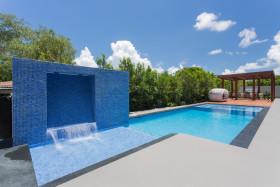 2016地中海风格休闲泳池装修设计图