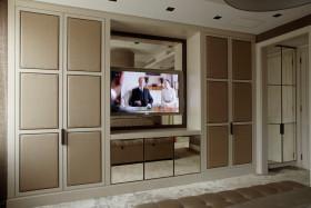 欧式简洁电视背景墙装修效果图