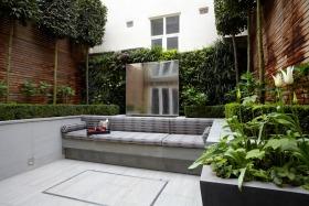 绿色欧式风格花园装修设计