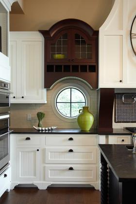 美式雅致风格厨房橱柜装修布置