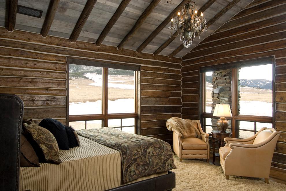 美式风格质感原木色卧室装修赏析