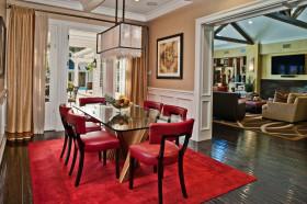 2016混搭风格红色餐厅设计