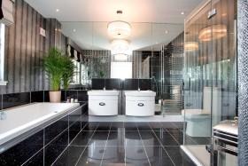 灰色欧式卫生间装修设计赏析