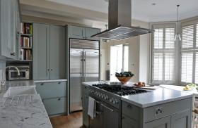 简洁美式厨房设计装潢