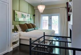 彩色素雅简约风卧室装饰设计