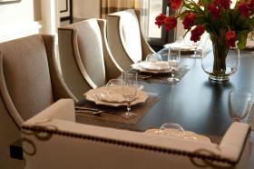 精致简欧风格餐厅餐具设计赏析