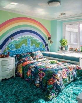 缤纷时尚现代卧室装修美图