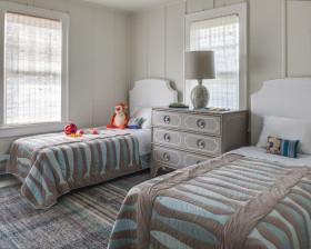 灰色雅致简欧风儿童房装修布置