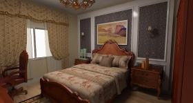 简洁欧式卧室美图欣赏