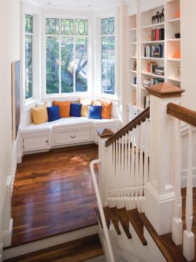 欧式风格时尚白色飘窗效果图设计