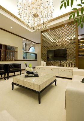 精致欧式与古典混搭风格客厅设计